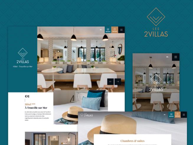 Création site internet - Les 2 Villas