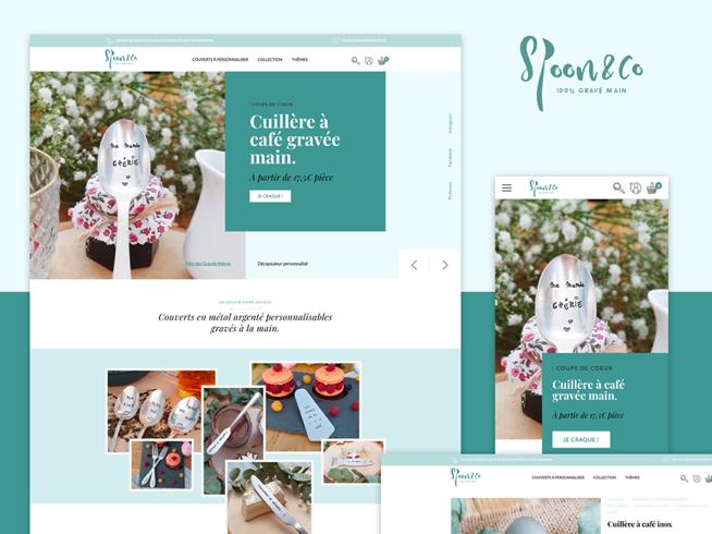 Création site internet - Spoon & Co
